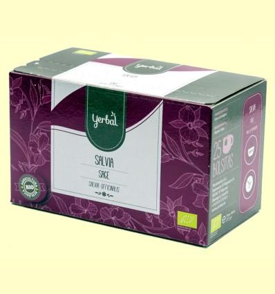 Infusión de Salvia Ecológica - Yerbal - 25 bolsitas
