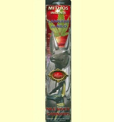 Incienso Cannabis del Nilo - Flaires - 16 barras