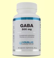 Gaba 500 mg - Laboratorios Douglas - 60 cápsulas