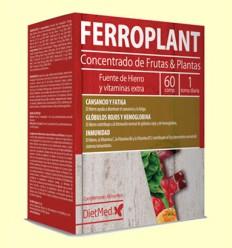 Ferroplant - Hierro y Vitaminas - Dietmed - 60 comprimidos