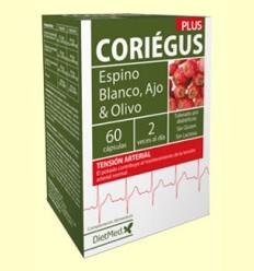 Coriegus - Sistema Cardiovascular - Dietmed - 60 cápsulas