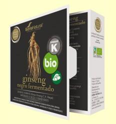 Ginseng Negro Fermentado Bio - Soria Natural - 24 cápsulas
