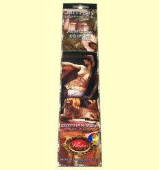 Incienso Mithos Almizcle Egipto - Flaires - 16 barras