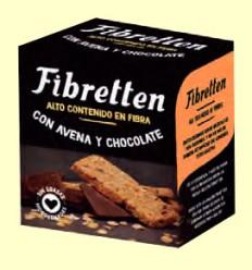 Fibretten Chocolate y Avena - Galletas Fibra - Venpharma - 200 gramos