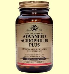 Acidophilus Plus Avanzado - Digestivo - Solgar - 120 cápsulas vegetales