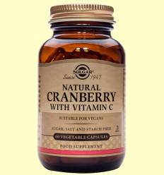 Arándano Rojo con vitamina C - Solgar - 60 cápsulas