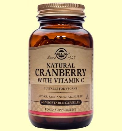 Arándano Rojo con vitamina C - Solgar - 60 cápsulas *