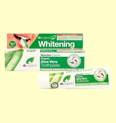 Pasta Dental de Aloe Vera Bio - Dr.Organic - 100 ml