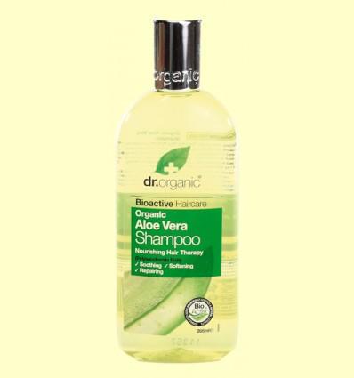 Champú de Aloe Vera Bio - Dr.Organic - 265 ml