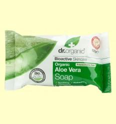 Pastilla de Jabón con Aloe Vera Bio - Dr.Organic - 100 gramos