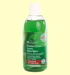 Enjuague Bucal de Aloe Vera Bio - Dr.Organic - 500 ml