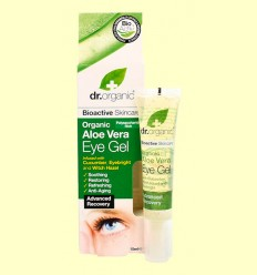 Gel Contorno de Ojos de Aloe Vera Bio - Dr.Organic - 15 ml