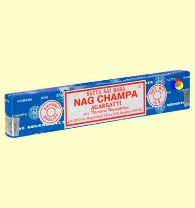 Nag Champa - Shrinivas Sugandhalaya - 15 gramos - OFERTA-40%