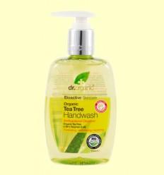 Jabón de Manos con Árbol del Té Bio - Dr.Organic - 250 ml