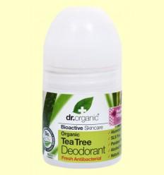 Desodorante de Árbol del Té Bio - Dr.Organic - 50 ml
