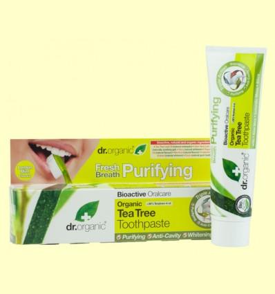 Pasta Dental de Árbol del Té - Dr.Organic - 100 ml