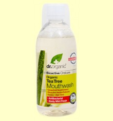 Enjuague Bucal de Árbol del Té - Dr.Organic - 500 ml