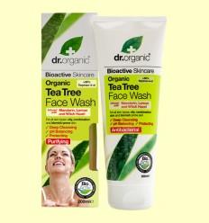 Gel Limpiador Facial de Árbol del Té Bio - Dr.Organic - 200 ml