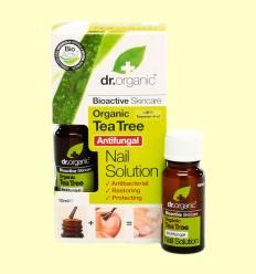 Solución Antibacteriana para Uñas de Árbol del Té Bio - Dr.Organic - 10 ml