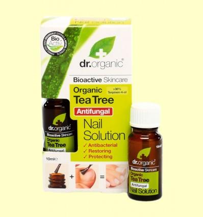 Solución Antibacteriana para Uñas de Árbol del Té - Dr.Organic - 10 ml