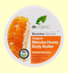 Crema Corporal de Miel de Manuka Bio - Dr.Organic - 200 ml