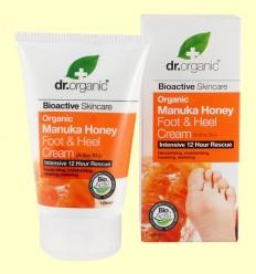 Crema para Pies y Talones de Miel de Manuka - Dr.Organic - 125 ml