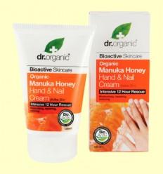 Crema para Manos y Uñas de Miel de Manuka - Dr.Organic - 125 ml
