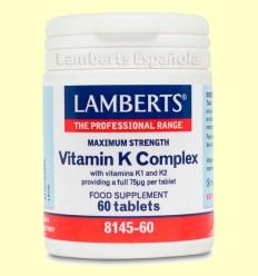 Vitamina K Complex - Laboratorios Lamberts - 60 comprimidos