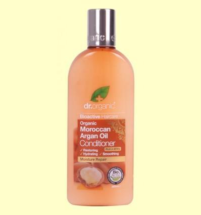 Acondicionador de Aceite de Argán Marroquí - Dr.Organic - 265 ml