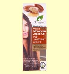 Suero Capilar de Aceite de Argán Marroquí Bio - Dr.Organic - 100 ml