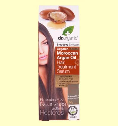 Suero Capilar de Aceite de Argán Marroquí - Dr.Organic - 100 ml