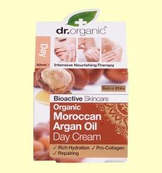 Crema de Día Aceite de Argán Marroquí - Dr.Organic - 50 ml