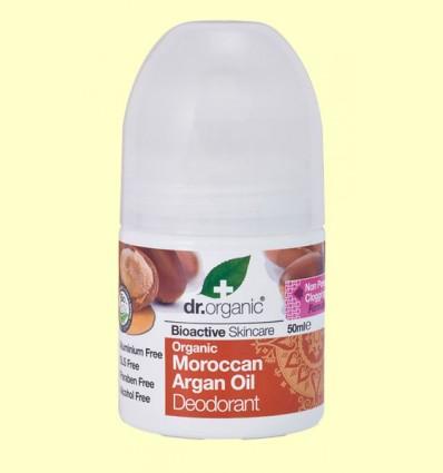 Desodorante de Aceite de Argán Marroquí Bio - Dr.Organic - 50 ml