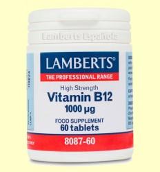 Vitamina B12 1000 µg - Lamberts - 60 tabletas