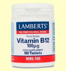 Vitamina B12 100 µg - Lamberts - 100 Tabletas