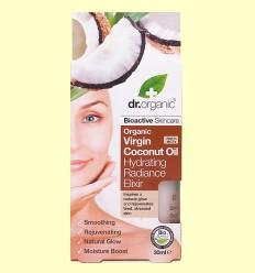 Elixir Hidratación de Aceite de Coco Bio - Dr.Organic - 30 ml