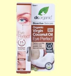 Contorno de Ojos de Aceite de Coco Bio - Dr.Organic - 15 ml