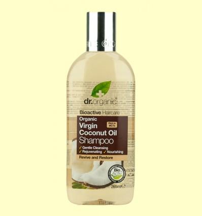 Champú de Aceite de Coco Bio - Dr.Organic - 265 ml