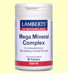 Mega Mineral Complex - Lamberts - 90 tabletas