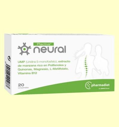 Plactive Neural - Dolor Espalda - Pharmadiet - 20 comprimidos