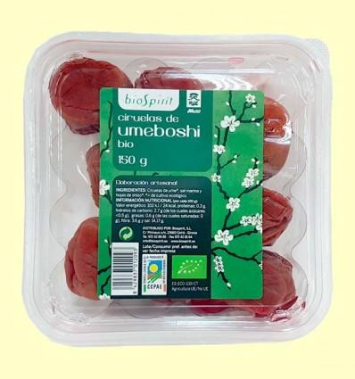 Ciruelas de Umeboshi Bio - BioSpirit - 150 gramos