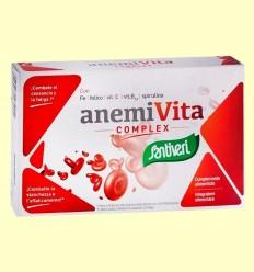 AnemiVita Complex - Santiveri - 40 cápsulas