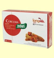 Cúrcuma Longvida - Santiveri - 24 comprimidos