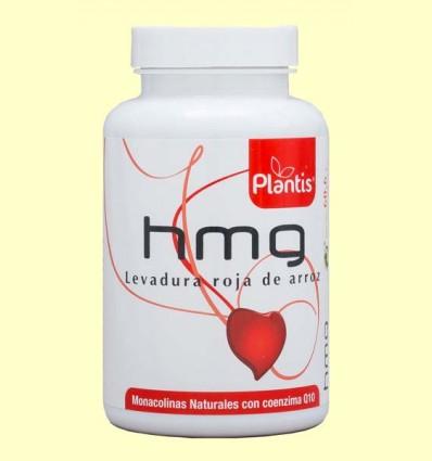 HMG Levadura Roja de Arroz - Plantis - 120 cápsulas