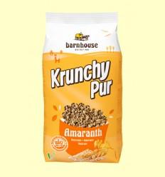 Krunchy de Amaranto con Sirope de Arroz Bio - Barnhouse - 750 gramos