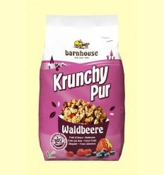 Krunchy de Frutos del Bosque con Sirope de Arroz Bio - Barnhouse - 375 gramos