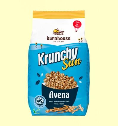Krunchy Sun Avena Clásico Bio - Barnhouse - 375 gramos