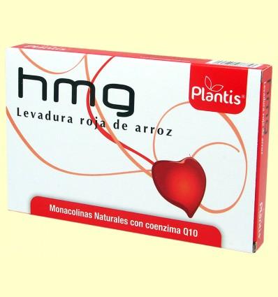 HMG Levadura Roja de Arroz - Plantis - 60 cápsulas