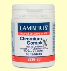 Complejo de Cromo - Lamberts - 60 tabletas