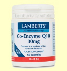 Coenzima Q-10 - Lamberts - 30 mg 60 cápsulas